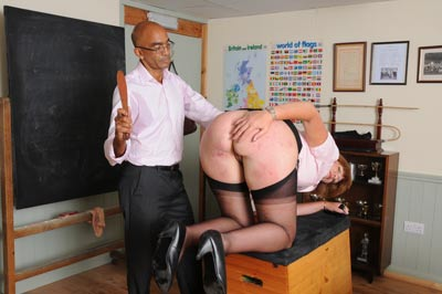 Teacher Sarah punished