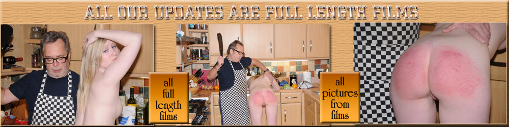 Satine and the spanking cook book